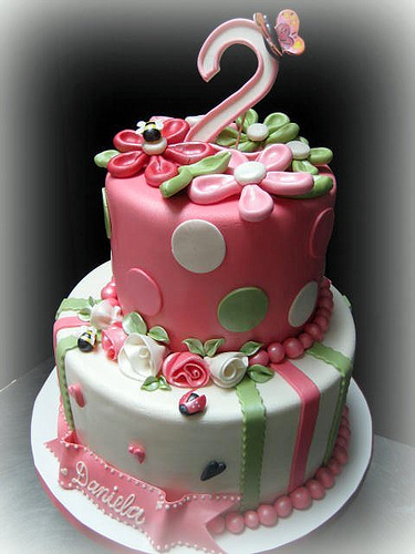 2nd Year Birthday Cake Designs For Baby Girl : Photo Gallery Details